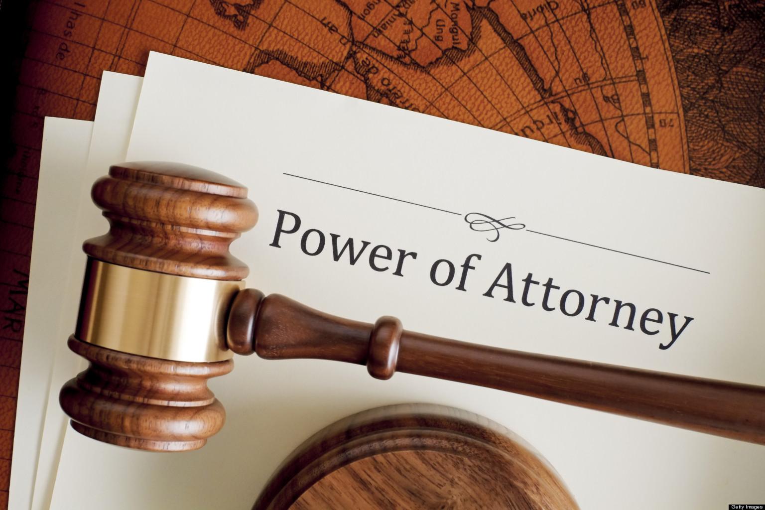 Power of Attorney Apostille